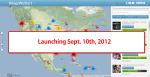 We're launching Sept. 10th, 2012